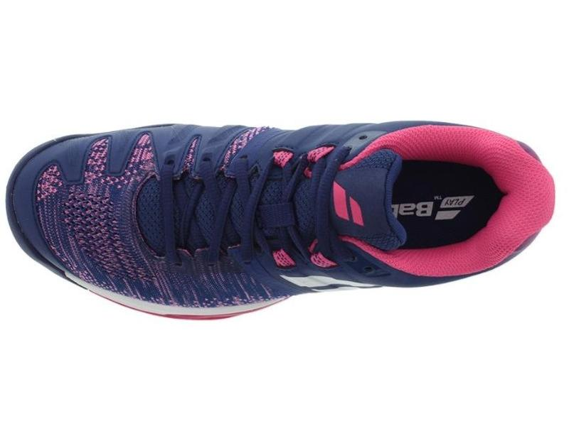 Babolat Propulse Blast Blue/Pink Women's Shoe