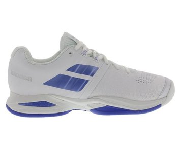 Babolat Propulse Blast White/Blue Women's Shoe