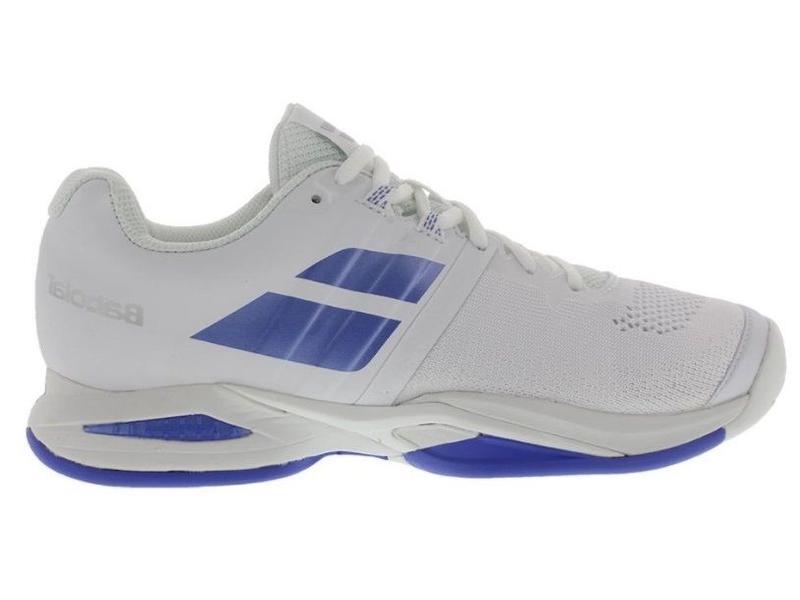 Babolat Propulse Blast White/Blue Women's Shoe