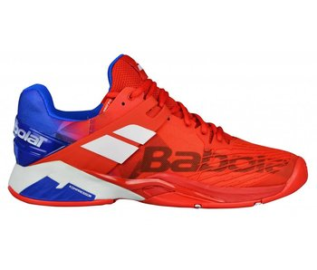 Babolat Propulse Fury AC Red/Blue/White Men's Shoe