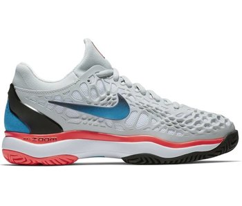 Nike Zoom Cage 3 HC Platinum/Blue Women's Shoe