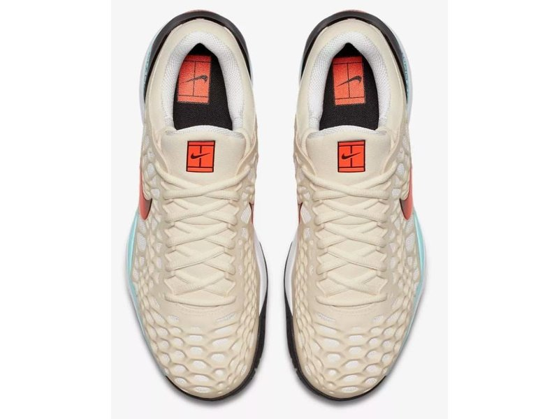 Nike Zoom Cage 3 HC Cream/Orange/Black/Aqua Men's Shoe