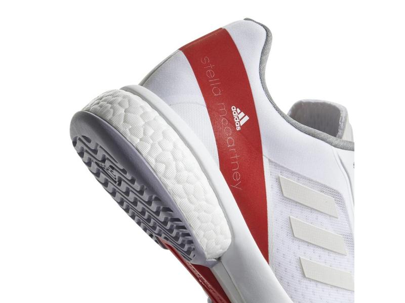 Adidas Stella McCartney Barricade Boost White/Red Women's Shoes