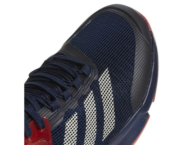Adidas Adizero Ubersonic 2.0 Navy/Scarlet/Red/Salmon Men's Shoe