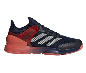 Adidas Adizero Ubersonic 2.0 Navy/Scarlet/Red/Salmon Men's Shoe