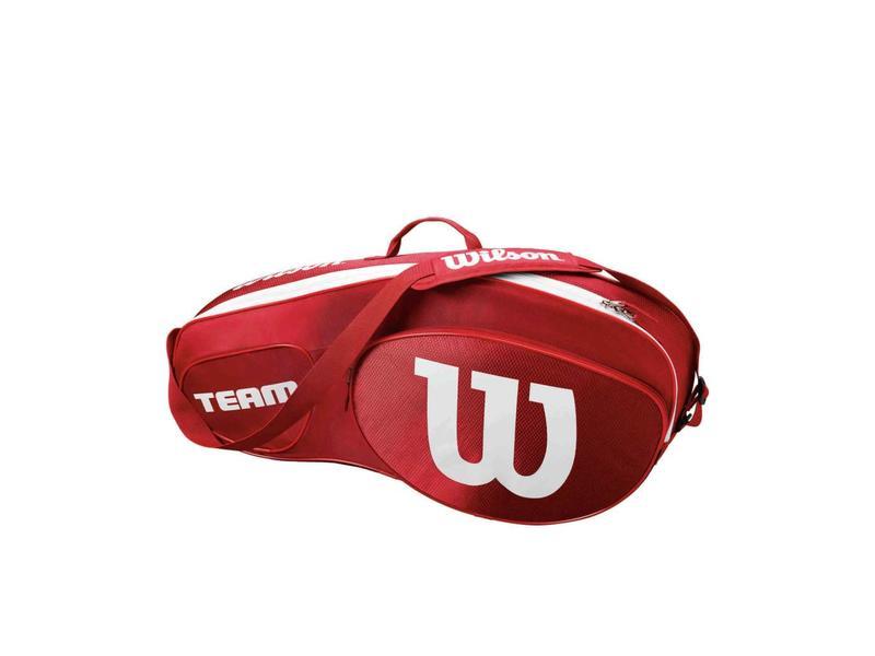 Wilson Team III Red/White 3 Pack Bag
