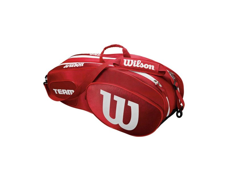 Wilson Team III Red/White 6 Pack Bag