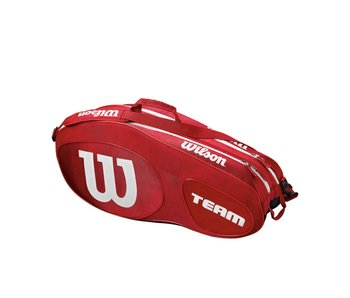 Wilson Team III Red/White 6 Pack Bag