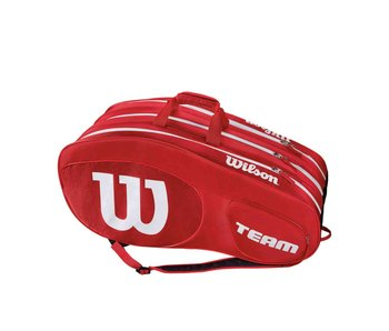 Wilson Team III Red/White 12 Pack Bag