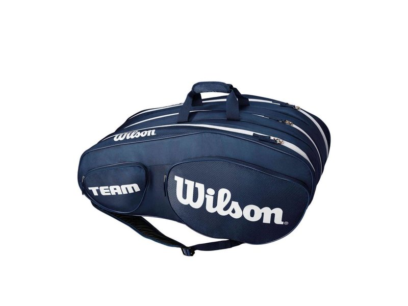 Wilson Team III Blue/White 12 Pack Bag