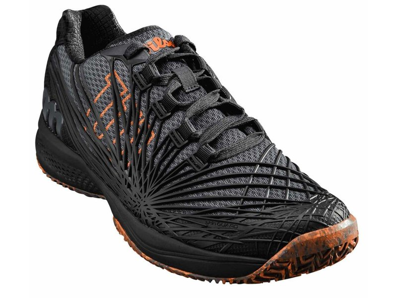 Wilson Kaos 2.0 Ebony/Black/Orange Men's Shoe