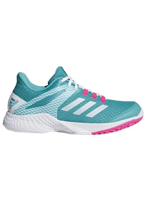 Adidas Adizero Club 2 Aqua/White/Pink Women's Shoe