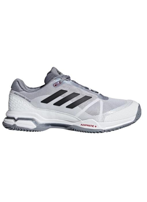 Adidas Barricade Club White/Black/Grey Men's Shoes