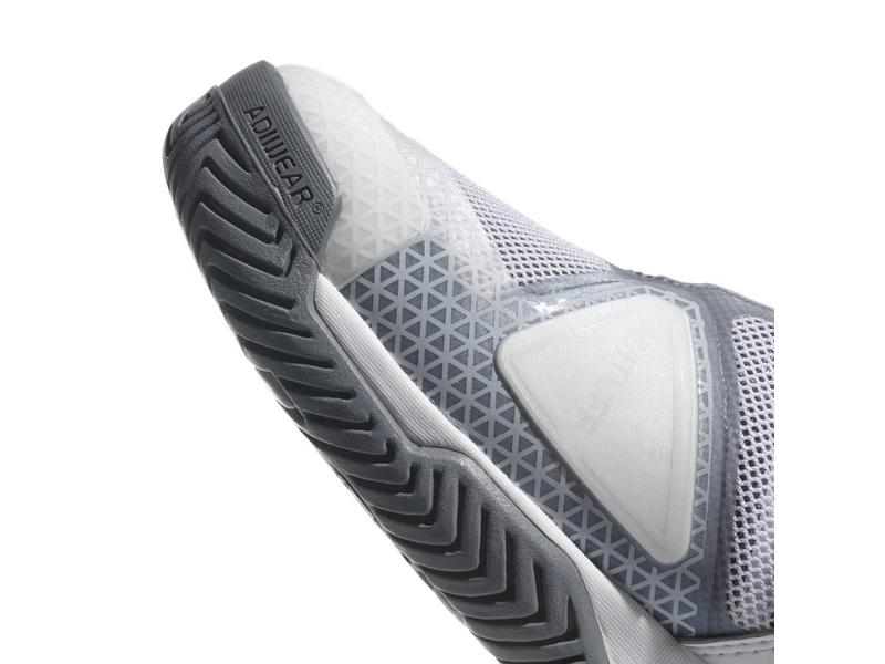 Adidas Barricade Club White/Black/Grey Men's Shoes