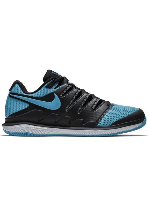 Nike Zoom Vapor X HC Black/Gamma Blue Men's Shoe