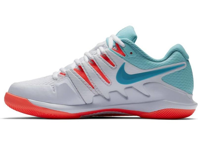 Nike Zoom Vapor X HC White/Blue/Red Women's Shoe
