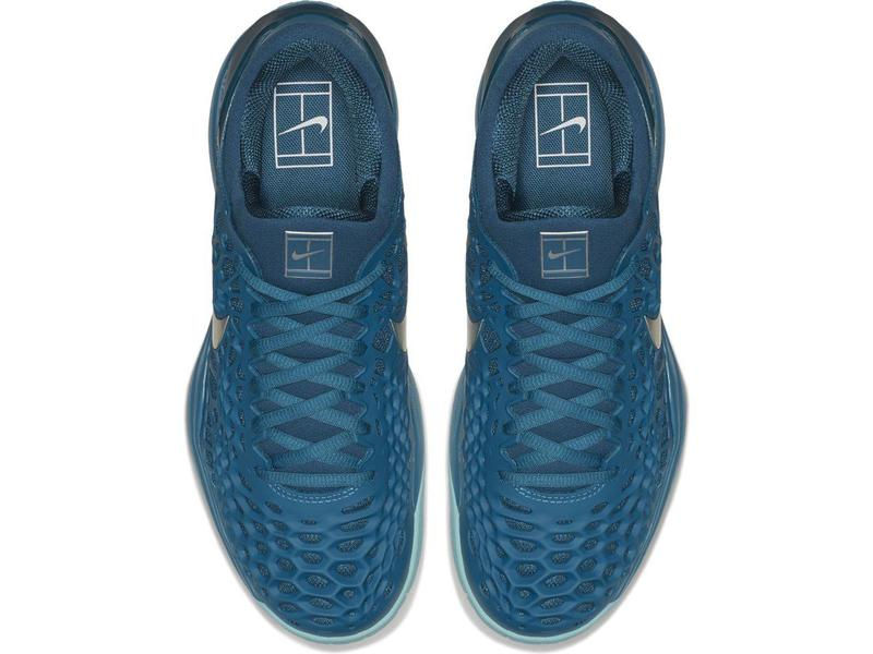 Nike Zoom Cage 3 HC Blue Force/Abyss Silver Men's Shoe