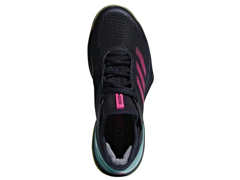 Adidas Adizero Ubersonic 3 Clay Pink/Navy Women's Shoe