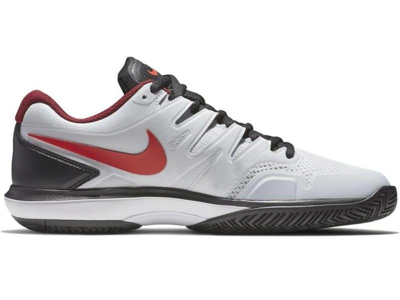 Nike Zoom Prestige Platinum/Red Men's Shoe