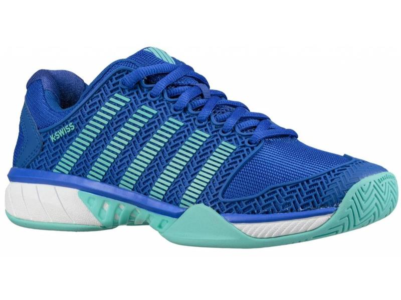 K-Swiss Hypercourt Express Light Blue/Blue Women's Shoe