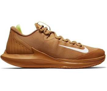 Nike Court Air Zoom Zero HC Men's Flax/Volt Glow