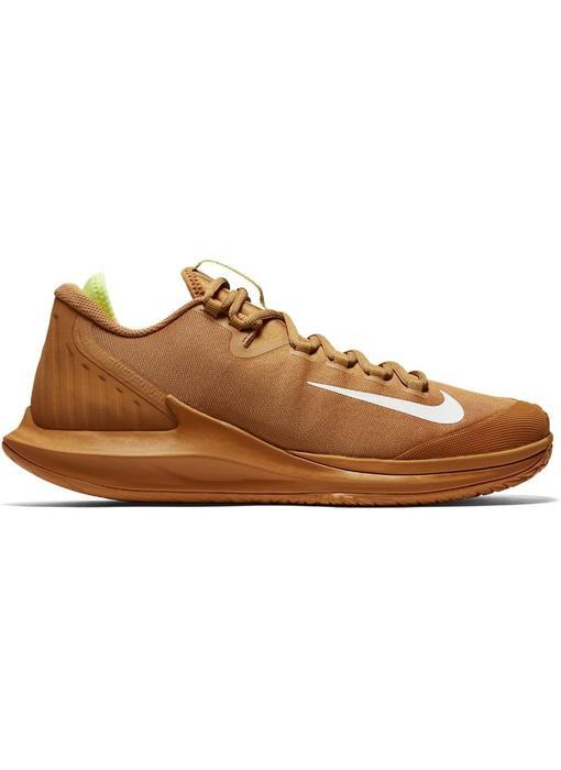 Nike Court Air Zoom Zero HC Men's Flax/Volt Glow