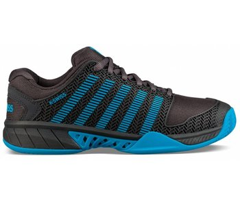 K-Swiss Hypercourt Express Grey/ Blue Men's Shoe