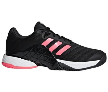Adidas Barricade 2018 Black/Flash Red Men's Shoe