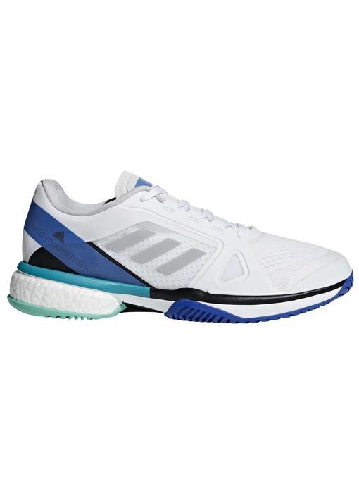 Adidas Stella Barricade Boost White/Blue Women's Shoes