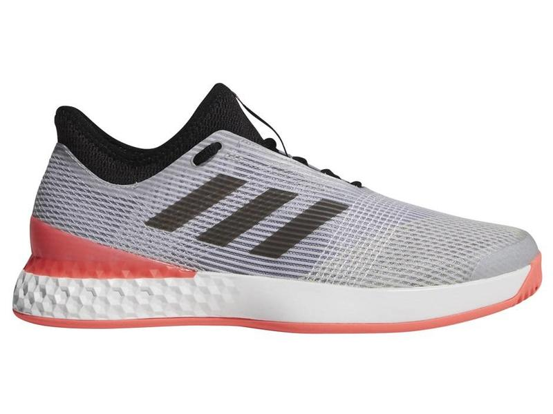 Adidas Adizero Ubersonic 3 Grey/Flash Red Men's Shoe