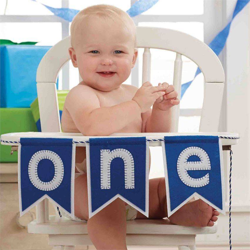 Mud Pie Boys One High Chair Banner ...  sc 1 st  Kicks and Giggles & Mud Pie | Boys One High Chair Banner | Kicks u0026 Giggles - Kicks and ...