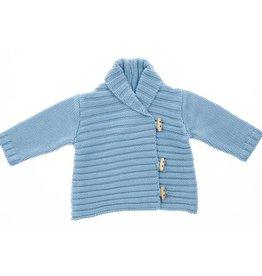 Beba Bean Whistler Cardigan Blue 6-12