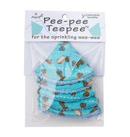 Beba Bean Pee-Pee Teepee Wiener Dog Blue
