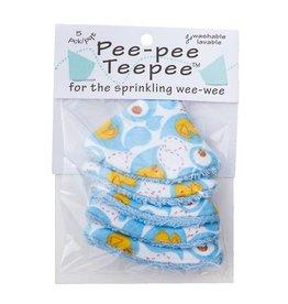 Beba Bean Pee-Pee Teepee Rubber Ducky Blue