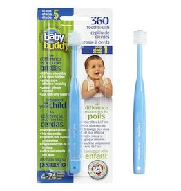 Baby Buddy Oral Care, Stage 5 360 Toothbrush Step 1
