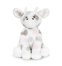 Little Giraffe Luxe Dot Plush Little Giraffe - Pink