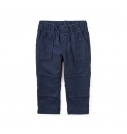 Tea Collection Baby Knit Playwear Pants Heritage Blue 3-6