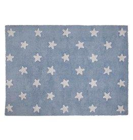 Lorena Canals Stars Blue - White