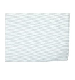 Petit Pehr Designs Pencil Stripes Crib Sheet - Blue