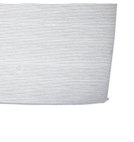 Petit Pehr Designs Pencil Stripes Crib Sheet - Grey