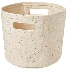 Petit Pehr Designs Showers Mini Girl Canvas Bin