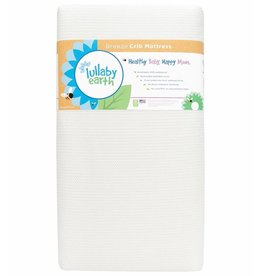 Lullaby Earth Lullaby Earth Breeze 2- Stage Crib Mattress - White, floor