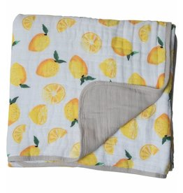 Little Unicorn Cotton Muslin Quilt - Lemon