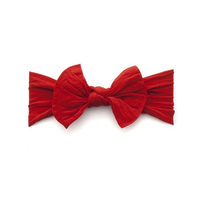 Baby Bling Bows Knot - Cherry