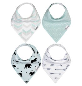 Copper Pearl Bib - Archer Set - 4 pack