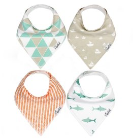 Copper Pearl Bib - Pacific Set - 4 pack