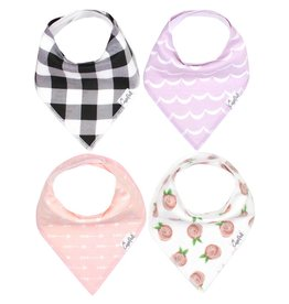 Copper Pearl Bib - Rosie Set - 4 pack