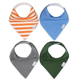 Copper Pearl Bib - Jackson Set - 4 pack