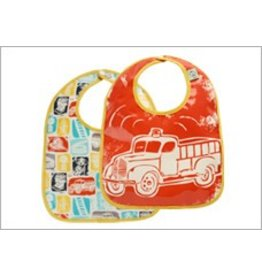 Ore Originals Mini Bib Gift S/2 Firetruck
