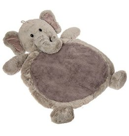 Mary Meyer Grey Elephant Baby Mat